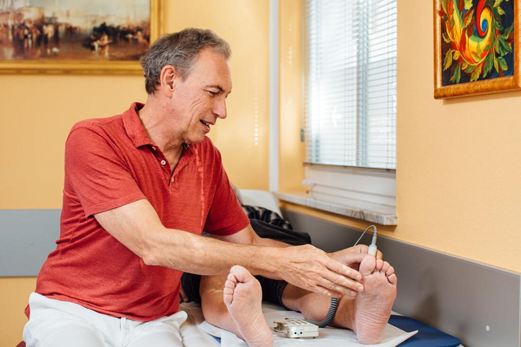Hausarzt Ampfing - Feige - Leistungen - Diabetes mit Fußambulanz