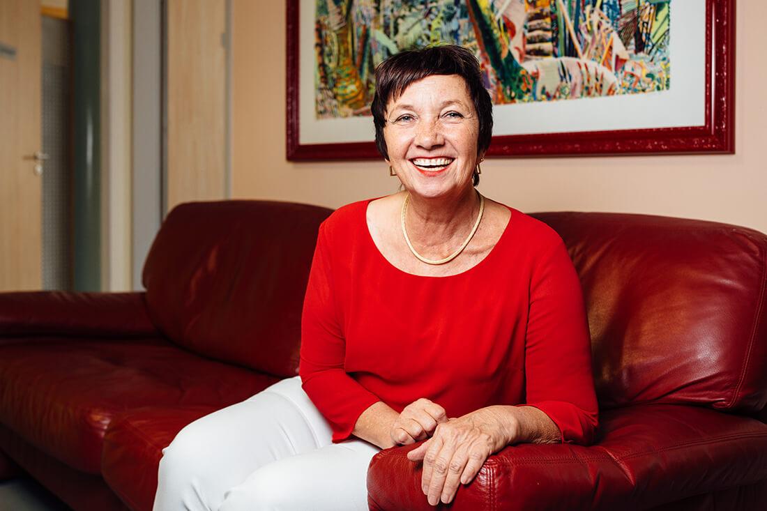 Hausarzt Ampfing - Feige - Portrait von Dr. Karin Neumann-Feige